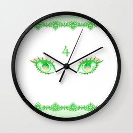 Sailor Jupiter Eyes Wall Clock