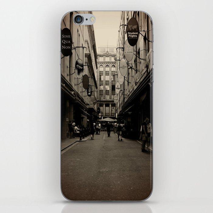 Degraves Street iPhone Skin