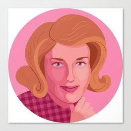 Queer Portrait - Lesley Gore Canvas Print