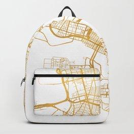 OAKLAND CALIFORNIA CITY STREET MAP ART Backpack