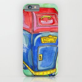 Toontown Post iPhone Case