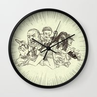 sale Wall Clocks featuring On Sale by Enrico Guarnieri 'Ico-dY'