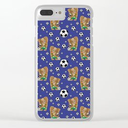 SOCCER STARS Clear iPhone Case