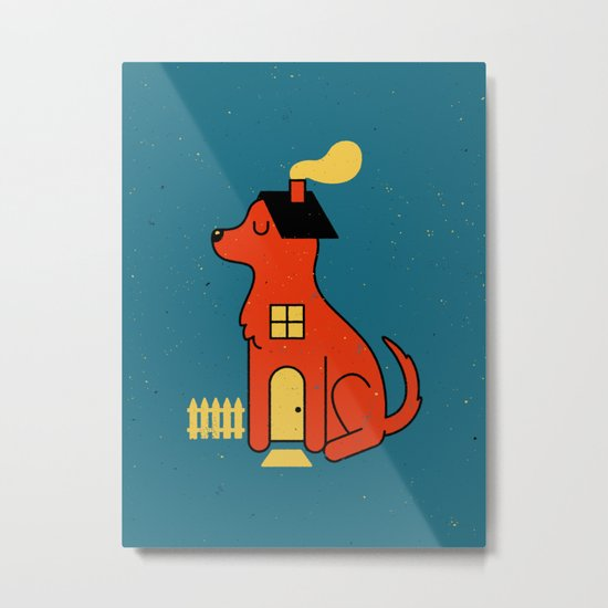 DogHouse Metal Print