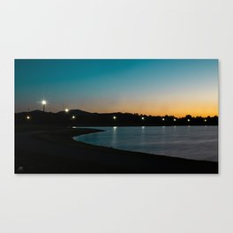 Morning Walk in the Park Canvas Print