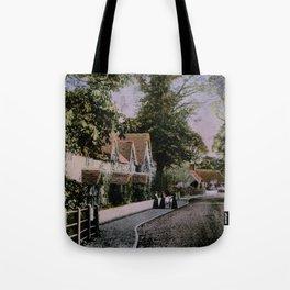1900 Canford Magna village Dorset England Tote Bag