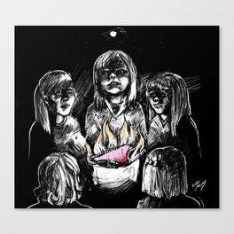 Teenage Witchcraft Canvas Print