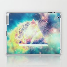 Awsome collosal deep space triangle art sign Laptop & iPad Skin