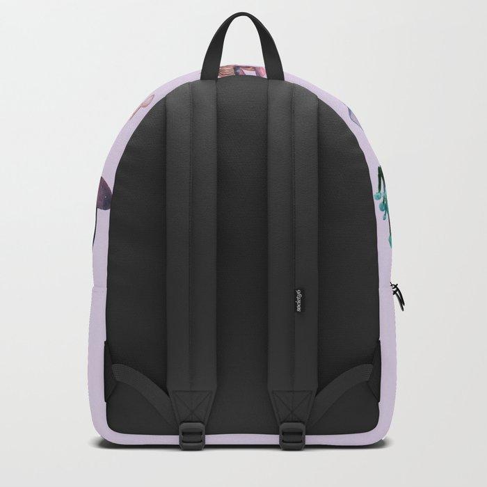 Midnight Mushrooms Backpack