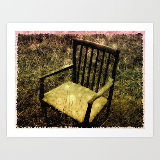 Pixie Chair Art Print