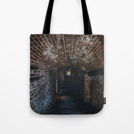 Underground Tunnel Tote Bag