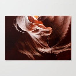 Canyon Abstract 3 Canvas Print