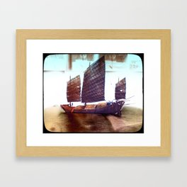 Culture Clash #2  Framed Art Print