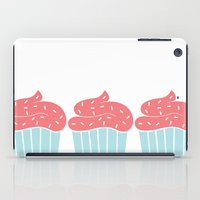cupcake iPad Cases featuring Cupcake by Elaine Stephenson Art