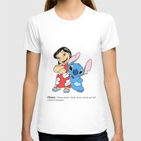 ohana T-shirts featuring Ohana means family by Emil Engström