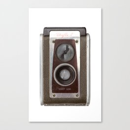 Vintage Duaflex Camera Canvas Print
