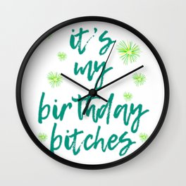 Looking for a fantastic gift to the birthday celebrant? Here's the perfect tee for them! Grab it now Wall Clock