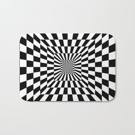 Optical Illusion Hallway Bath Mat