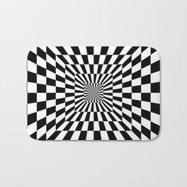 Optical Illusion Hallway Bath Mat