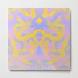 Tie dye butterfly Metal Print