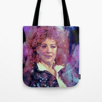 river song Tote Bags featuring River Song by Sirenphotos