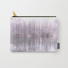 misty mood at the riverside Carry-All Pouch