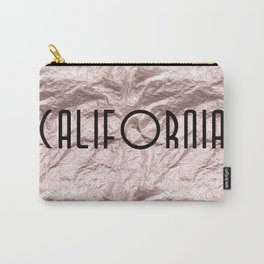 Calfornia Gold Carry-All Pouch