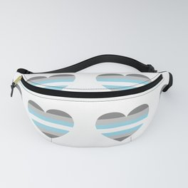 demiboy hearts Fanny Pack
