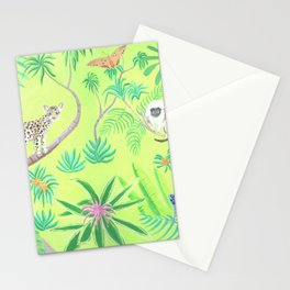 Tropical animals Stationery Cards