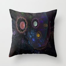 Fantasy cosmos Throw Pillow