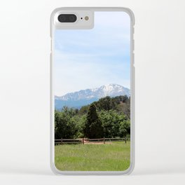 Pike's Peak Clear iPhone Case