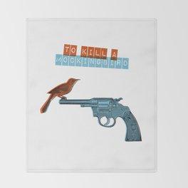 To Kill a mocking bird Throw Blanket