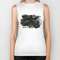 matrix Biker Tanks featuring Matrix by alexviveros.net