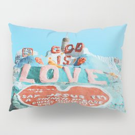 Salvation Mountain Pillow Sham