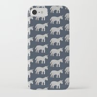 unicorns iPhone & iPod Cases featuring Unicorns  by Katelyn Patton