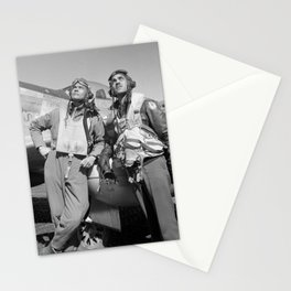 Tuskegee Airmen -- World War II Stationery Cards