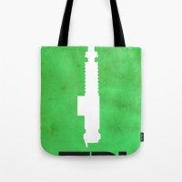 jedi Tote Bags featuring Vintage Jedi by Fletcher McKinney