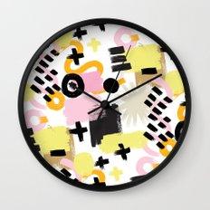 Perception Abstract 001 Wall Clock