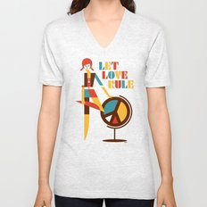 Hippie Chick Unisex V-Neck
