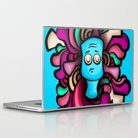 foo fighters Laptop & iPad Skins featuring Foo by Shana-Lee