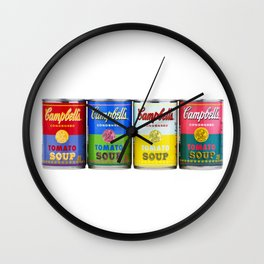 Campbell's (Soup Cans) Wall Clock