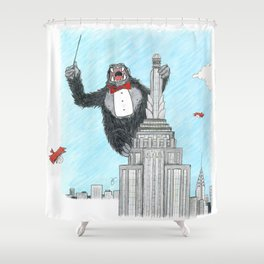Maestro Kong Shower Curtain