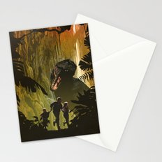 Dinosaur Poster Stationery Cards