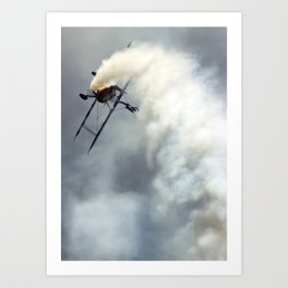 Wingwalker Art Print