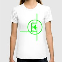 transistor T-shirts featuring N-TYPE MOSFET by EEShirts