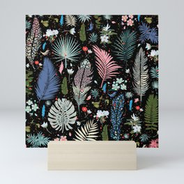 Magic Garden / Floral Pattern Mini Art Print