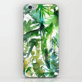 VIBE of the Jungle  {A-green} iPhone Skin