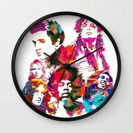 Legends of Music Wall Clock