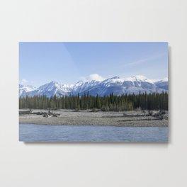 Majestic River 1 Metal Print
