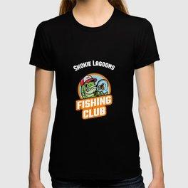 Skokie Lagoons FISHING CLUB T-shirt